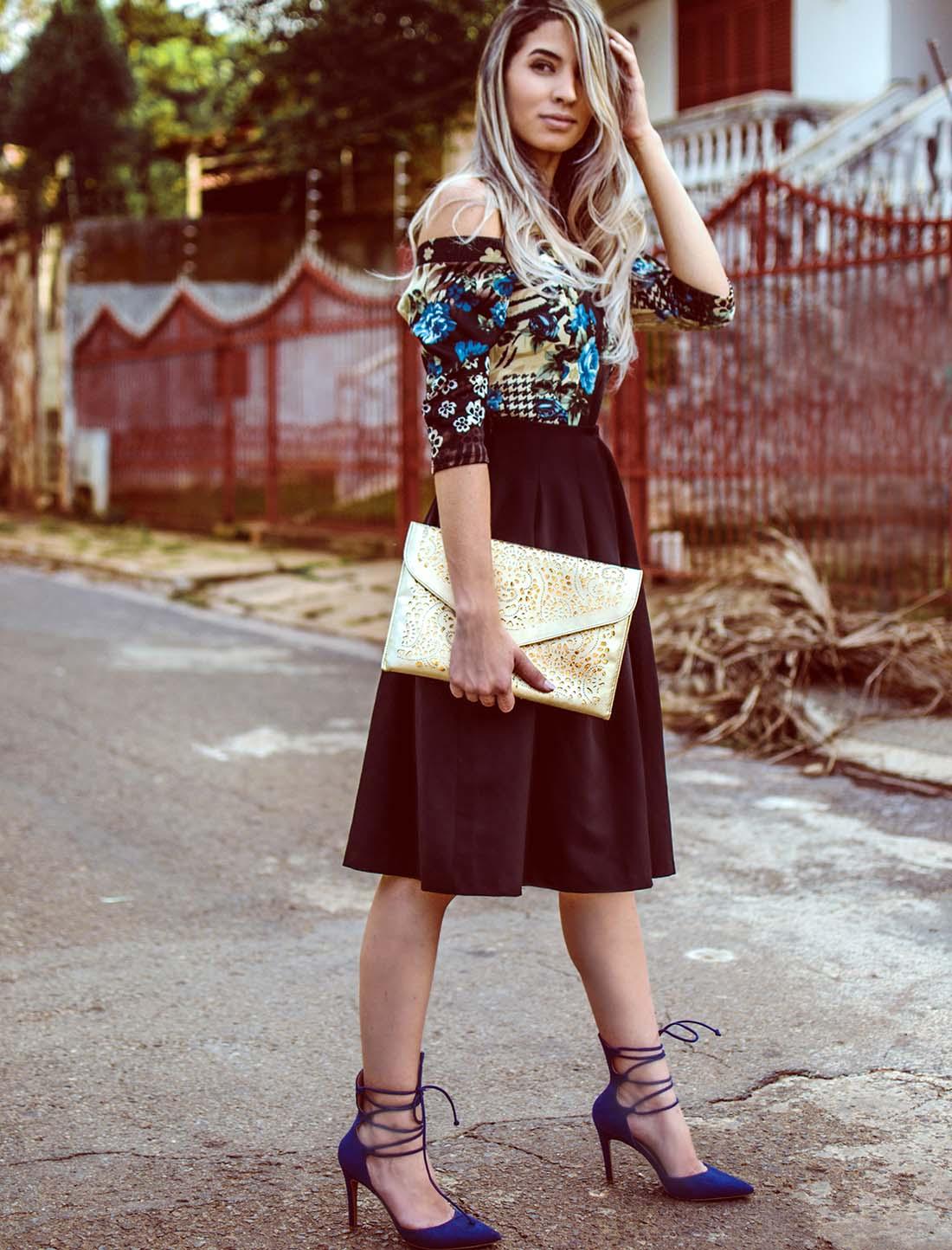 Super Look Saia Midi Preta - Passyis Fotografia - Blog de moda, beleza e  LQ79